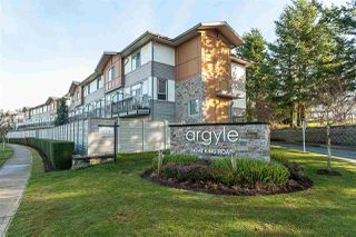 "Main Photo: 45 34248 KING Road in Abbotsford: Poplar Townhouse for sale in ""Argyle"" : MLS®# R2424323"