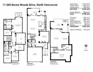 """Photo 20: 11 555 RAVEN WOODS Drive in North Vancouver: Roche Point Townhouse for sale in """"SIGNATURE ESTATES OF RAVENWOODS"""" : MLS®# R2495900"""