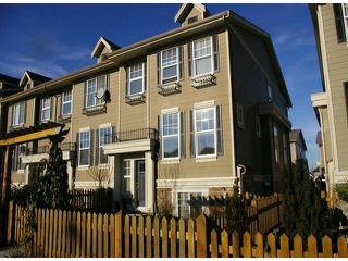 "Photo 1: 21139 80TH Avenue in Langley: Willoughby Heights Townhouse for sale in ""YORKVILLE"" : MLS®# F1401445"