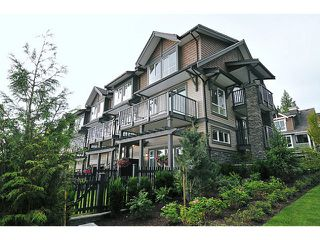 "Photo 1: 119 1480 SOUTHVIEW Street in Coquitlam: Burke Mountain Townhouse for sale in ""CEDAR CREEK"" : MLS®# V1045909"