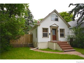 Photo 1: Rathgar Avenue in Winnipeg: Fort Rouge Residential for sale (1Aw)  : MLS®# 1617332