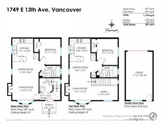Photo 20: 1749 E 13TH Avenue in Vancouver: Grandview VE House 1/2 Duplex for sale (Vancouver East)  : MLS®# R2115872