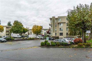 """Photo 1: 227 32850 GEORGE FERGUSON Way in Abbotsford: Central Abbotsford Condo for sale in """"Abbotsford Place"""" : MLS®# R2167494"""