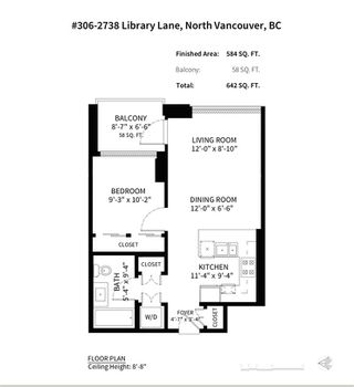 "Photo 20: 306 2738 LIBRARY Lane in North Vancouver: Lynn Valley Condo for sale in ""The Residences"" : MLS®# R2321449"