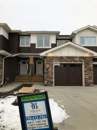 Main Photo: 3423 CAMERON HEIGHTS Cove in Edmonton: Zone 20 Attached Home for sale : MLS®# E4135670