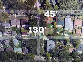 Main Photo: 8555 80 Avenue in Edmonton: Zone 17 Vacant Lot for sale : MLS®# E4140674