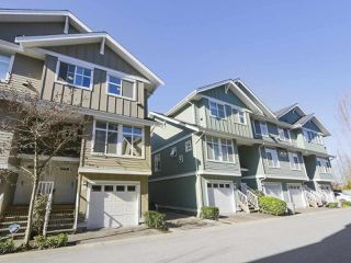 "Photo 1: 110 935 EWEN Avenue in New Westminster: Queensborough Townhouse for sale in ""Coopers Landing"" : MLS®# R2351084"