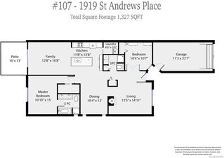 Photo 4: 107 1919 St Andrews Pl in COURTENAY: CV Courtenay East Row/Townhouse for sale (Comox Valley)  : MLS®# 840958