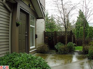 Photo 1: 11 6588 188th Street in Surrey: Cloverdale BC Townhouse for sale (Cloverdale)  : MLS®# F1208447