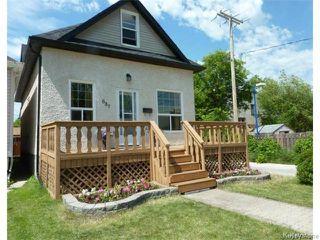 Main Photo: 687 Lyndale Drive in WINNIPEG: St Boniface Residential for sale (South East Winnipeg)  : MLS®# 1506395