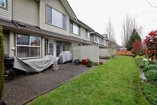 "Photo 36: 34 15860 82ND Avenue in Surrey: Fleetwood Tynehead Townhouse for sale in ""Oak Tree"" : MLS®# F1435529"