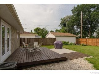 Photo 15: 308 Cathcart Street in WINNIPEG: Charleswood Residential for sale (South Winnipeg)  : MLS®# 1519545