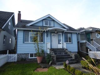 Photo 1: 2779 NANAIMO Street in Vancouver: Grandview VE House for sale (Vancouver East)  : MLS®# R2023376