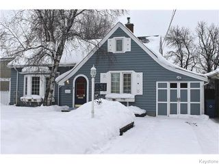 Main Photo: 231 Kingston Row in WINNIPEG: St Vital Residential for sale (South East Winnipeg)  : MLS®# 1601509