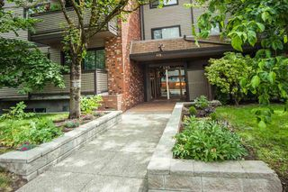 """Photo 1: 104 535 BLUE MOUNTAIN Street in Coquitlam: Central Coquitlam Condo for sale in """"REGAL COURT"""" : MLS®# R2081346"""