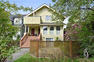 Main Photo: 3517 W 3RD AVENUE in : Kitsilano House for sale : MLS®# R2064826