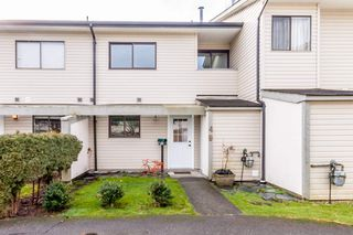 "Photo 1: 49 5181 204 Street in Langley: Langley City Townhouse for sale in ""PORTAGE ESTATES"" : MLS®# R2139517"