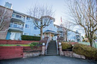 "Photo 1: 212 11510 225 Street in Maple Ridge: East Central Condo for sale in ""RIVERSIDE"" : MLS®# R2248146"