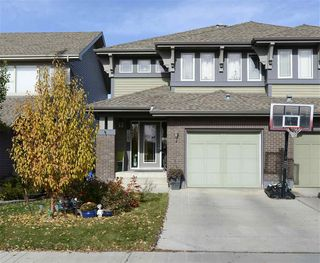 Main Photo: 2287 Austin Way in Edmonton: Zone 56 House Half Duplex for sale : MLS®# E4140055