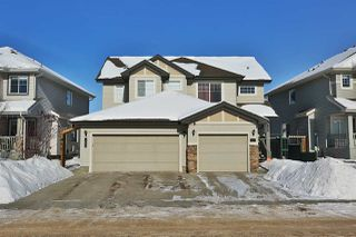 Photo 1: 1625 RUTHERFORD Road in Edmonton: Zone 55 House Half Duplex for sale : MLS®# E4145183