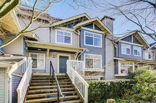 "Photo 1: 38 7488 SOUTHWYNDE Avenue in Burnaby: South Slope Townhouse for sale in ""LEDGESTONE I"" (Burnaby South)  : MLS®# R2347709"