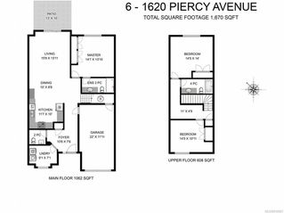 Photo 9: 6 1620 Piercy Ave in COURTENAY: CV Courtenay City Row/Townhouse for sale (Comox Valley)  : MLS®# 810581