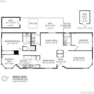 Photo 31: 145 7 Chief Robert Sam Lane in VICTORIA: VR Glentana Manu Double-Wide for sale (View Royal)  : MLS®# 408509