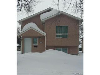 Photo 1: 266 COLLEGIATE Street in WINNIPEG: St James Residential for sale (West Winnipeg)  : MLS®# 1322823