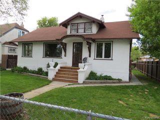 Photo 1: 25 Ellesmere Avenue in WINNIPEG: St Vital Residential for sale (South East Winnipeg)  : MLS®# 1412521