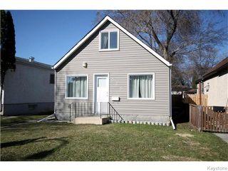 Photo 1: 535 Melbourne Avenue in Winnipeg: East Kildonan Residential for sale (North East Winnipeg)  : MLS®# 1607432