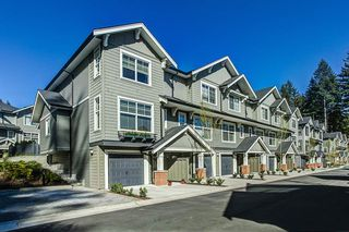 "Photo 1: 46 3461 PRINCETON Avenue in Coquitlam: Burke Mountain Townhouse for sale in ""BRIDLEWOOD II"" : MLS®# R2053768"