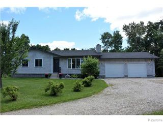 Photo 1: 40034 Garven Road in Anola: RM of Springfield Residential for sale (R04)  : MLS®# 1618067