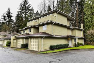"Photo 1: 107 1386 LINCOLN Drive in Port Coquitlam: Oxford Heights Townhouse for sale in ""MOUNTAINS PARK VILLAGE"" : MLS®# R2147747"