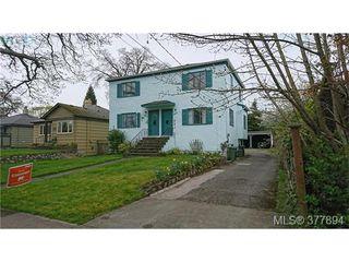 Photo 1: 1646 Davie St in VICTORIA: Vi Rockland Full Duplex for sale (Victoria)  : MLS®# 758644