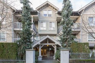 "Photo 1: 105 3895 SANDELL Street in Burnaby: Central Park BS Condo for sale in ""CLARKE HOUSE"" (Burnaby South)  : MLS®# R2233846"