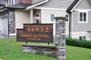 """Main Photo: 2 46832 HUDSON Road in Sardis: Promontory Townhouse for sale in """"CornerStone Haven"""" : MLS®# R2305028"""