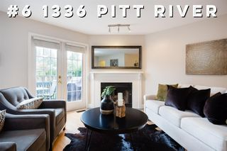 "Main Photo: 6 1336 PITT RIVER Road in Port Coquitlam: Citadel PQ Townhouse for sale in ""WILLOW GLEN ESTATES"" : MLS®# R2341524"