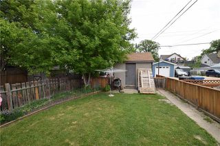 Photo 20: 285 ROSEBERRY Street in Winnipeg: St James Residential for sale (5E)  : MLS®# 1915737
