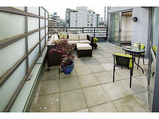 "Photo 1: 407 501 PACIFIC Street in Vancouver: Downtown VW Condo for sale in ""THE 501"" (Vancouver West)  : MLS®# V1114876"