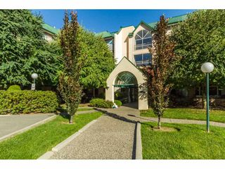 "Photo 1: 405 2964 TRETHEWEY Street in Abbotsford: Abbotsford West Condo for sale in ""Cascade Green"" : MLS®# R2107776"