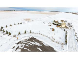 Photo 1: 48142 320 Avenue E: Rural Foothills M.D. House for sale : MLS®# C4098946