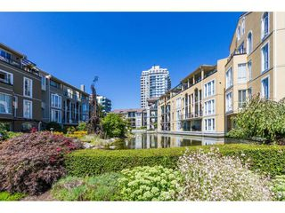 """Photo 1: 409 3 RENAISSANCE Square in New Westminster: Quay Condo for sale in """"THE LIDO"""" : MLS®# R2148521"""