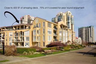 """Photo 2: 409 3 RENAISSANCE Square in New Westminster: Quay Condo for sale in """"THE LIDO"""" : MLS®# R2148521"""