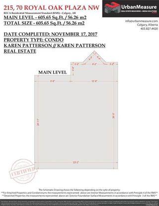 Photo 28: 215 70 Royal Oak Plaza NW in Calgary: Royal Oak Condo for sale : MLS®# C4146193