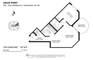 "Photo 19: 308 2023 FRANKLIN Street in Vancouver: Hastings Condo for sale in ""LESLIE POINT"" (Vancouver East)  : MLS®# R2227826"