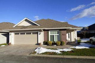 """Photo 1: 40 45824 STEVENSON Road in Sardis: Sardis East Vedder Rd House for sale in """"Stevenson Villas"""" : MLS®# R2241849"""