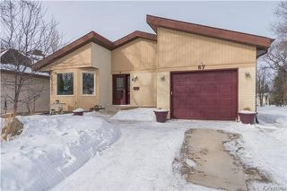 Main Photo: 67 Bethune Way in Winnipeg: Pulberry Residential for sale (2C)  : MLS®# 1803456