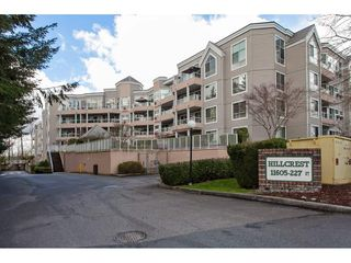 "Photo 1: 401 11605 227 Street in Maple Ridge: East Central Condo for sale in ""HILLCREST"" : MLS®# R2256428"