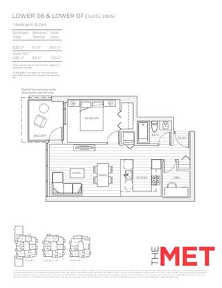 """Photo 11: 2807 6588 NELSON Avenue in Burnaby: Metrotown Condo for sale in """"MET 1"""" (Burnaby South)  : MLS®# R2264950"""