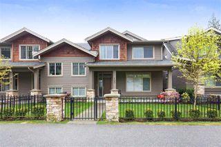 "Photo 1: 103 3450 DAVID Avenue in Coquitlam: Burke Mountain Townhouse for sale in ""Secret Ridge II"" : MLS®# R2288441"